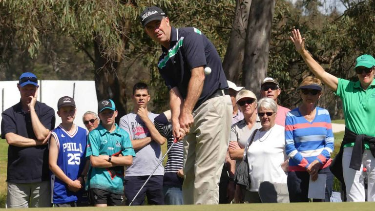 Grant Kenny on the final round of the 2017 NSW Senior Open