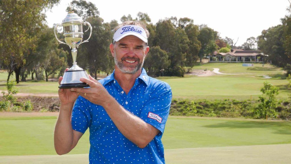 Michael Long 2018 Linolcn Place NSW Senior Open Champion